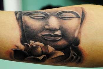 tattoo of Buddha