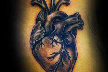 Tattoo of a heart