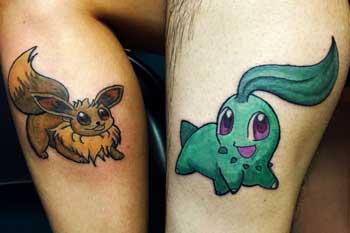Tattoo of Pokemon