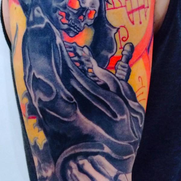 Tattoo by Felipe